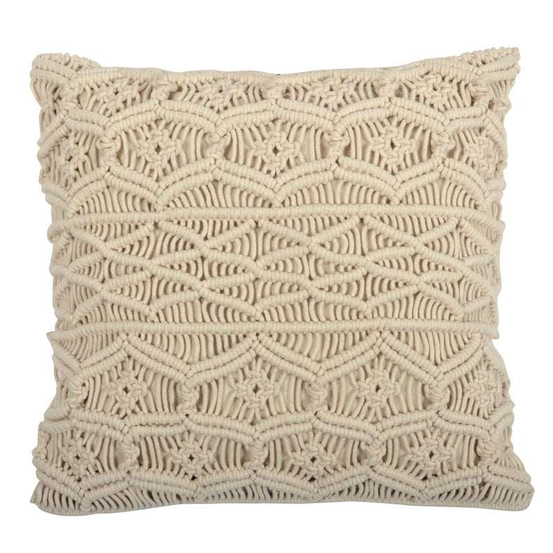 Ellen Macrame Pillow