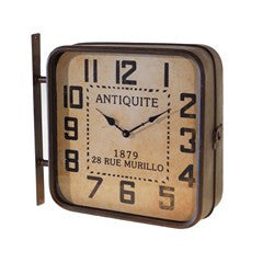 Columbus Dual Sided Wall Clock