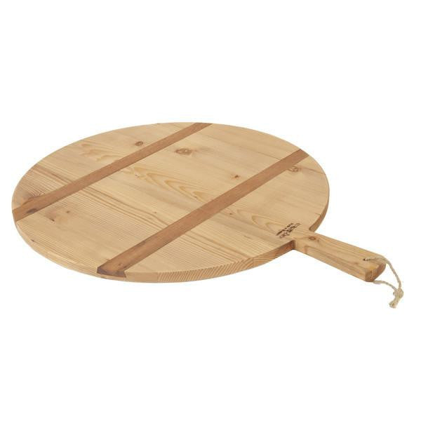 Round Reclaimed Wood Bread Board