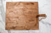 Square Reclaimed Wood Bread Board