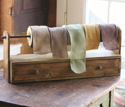 Wooden Ribbon Rack