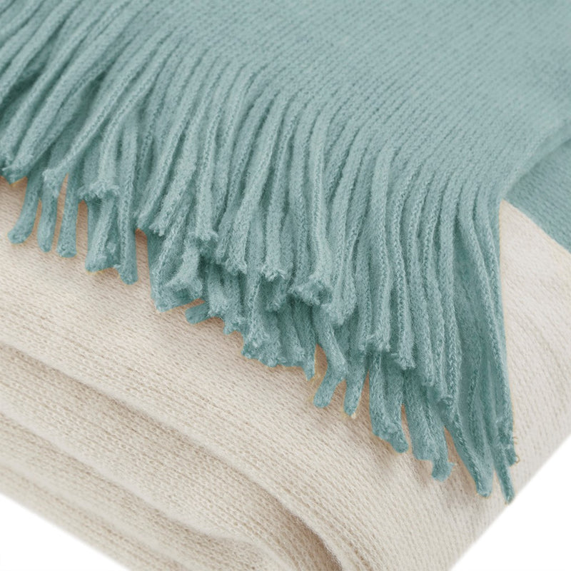 Copenhagen Colorblock Faux Cashmere Throw