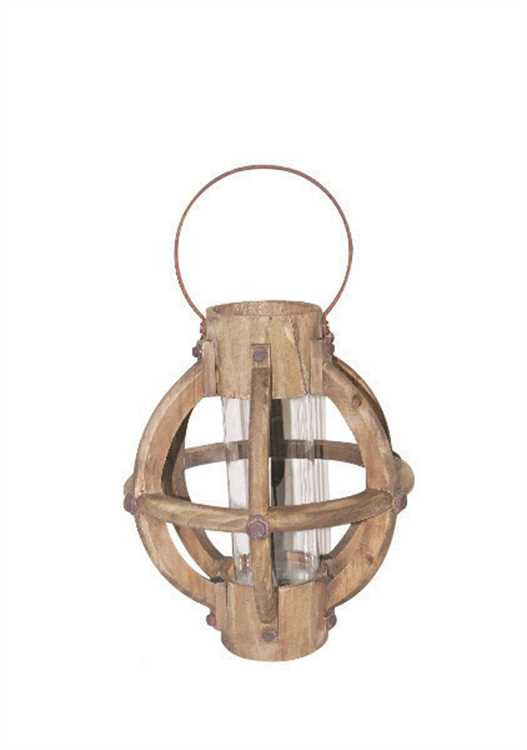 Wood & Glass Lantern Collection