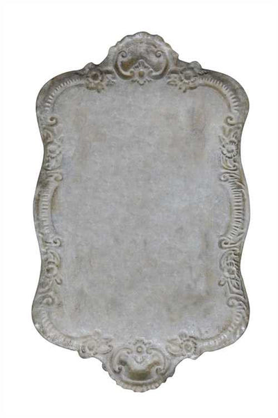 French Chateau Tin Tray