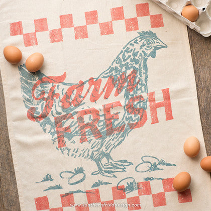Farm Fresh Kitchen Towel