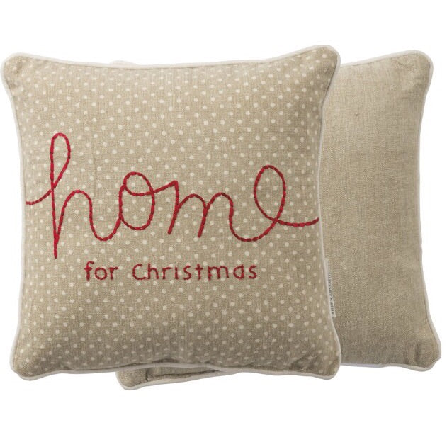 Home for Christmas Pillow