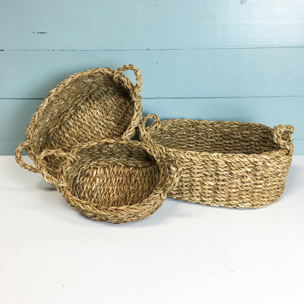 Cora Seagrass Basket Set