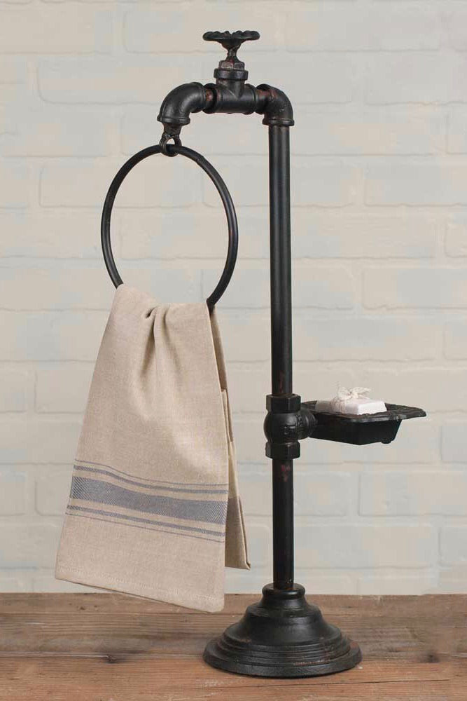 Spigot Soap & Towel Holder
