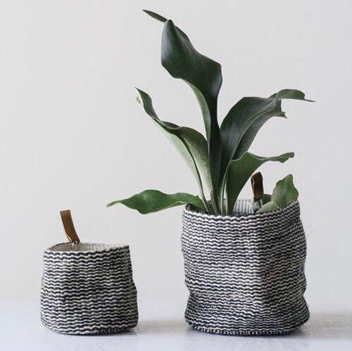 Jute Wall Baskets