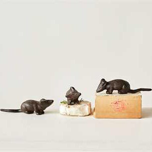 Three Black Mice