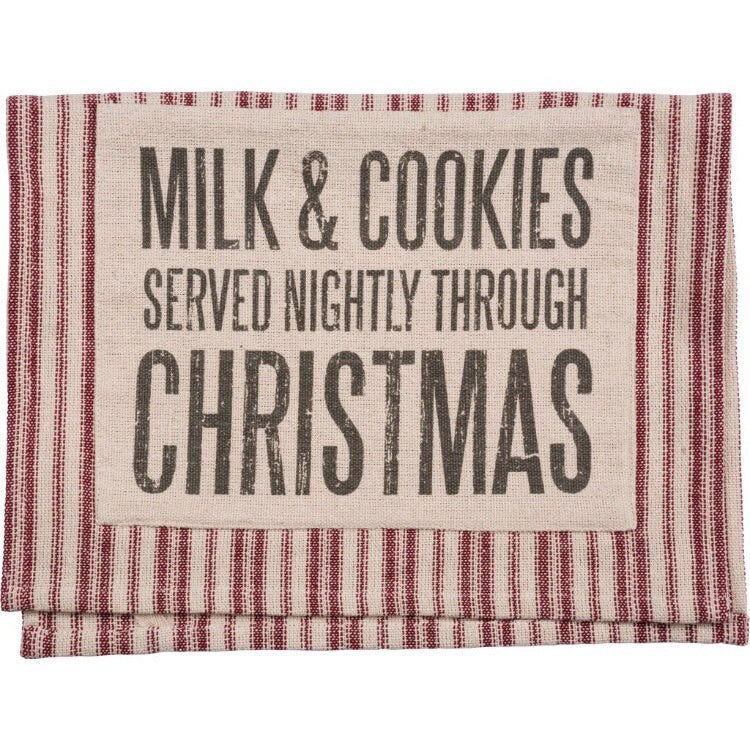 Milk & Cookies Kitchen Towel