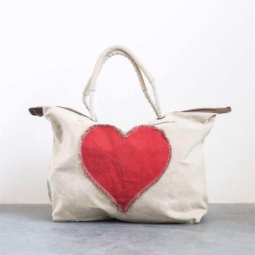 Heart Overnight Bag