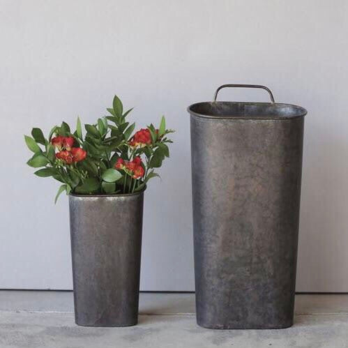 Tin Wall Bucket Set
