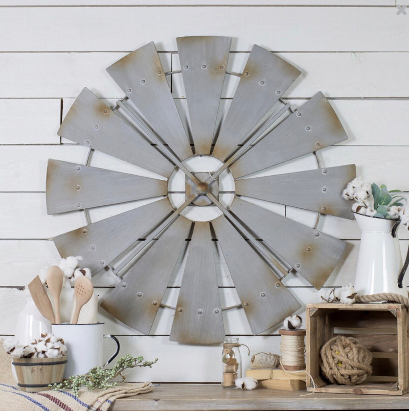 Country Windmill Wall Art