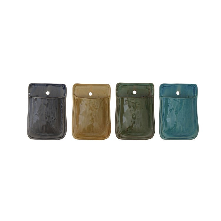 Rainbow Terra Cotta Wall Pocket Set