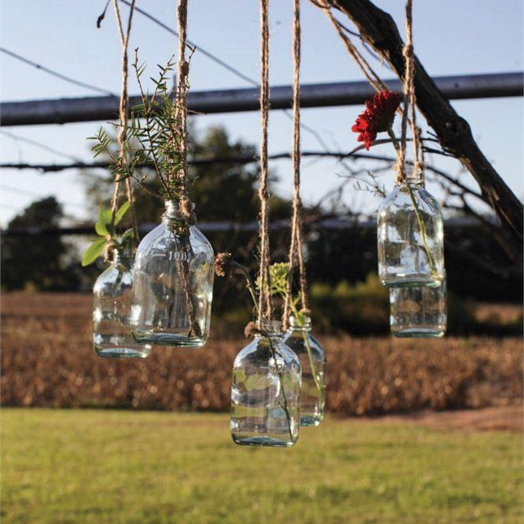 Hanging Bottle with Jute Rope