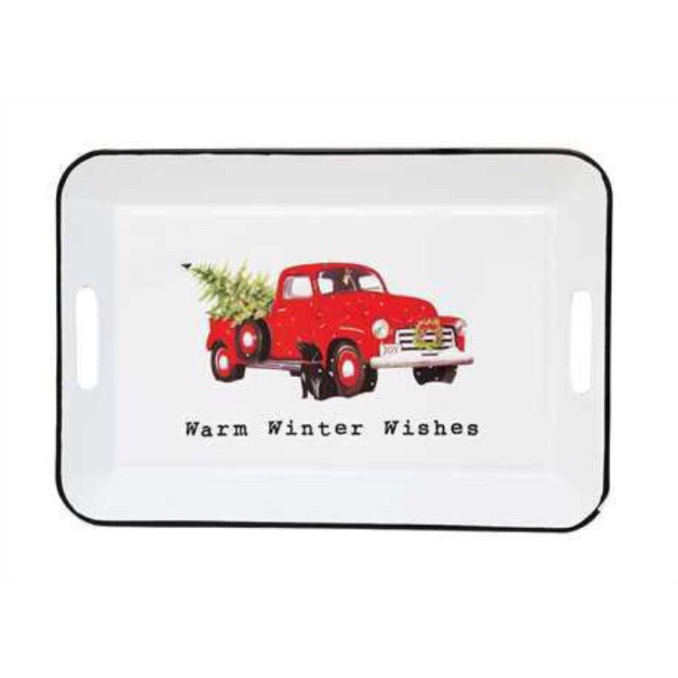 Warm Winter Wishes Tray