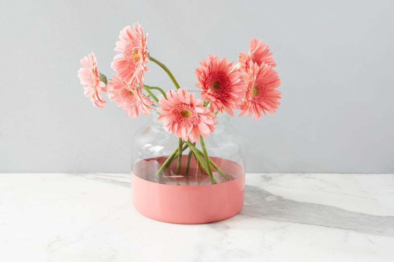 Colorblock Flower Vase
