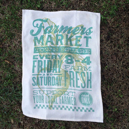 Farmer's Market Kitchen Towel