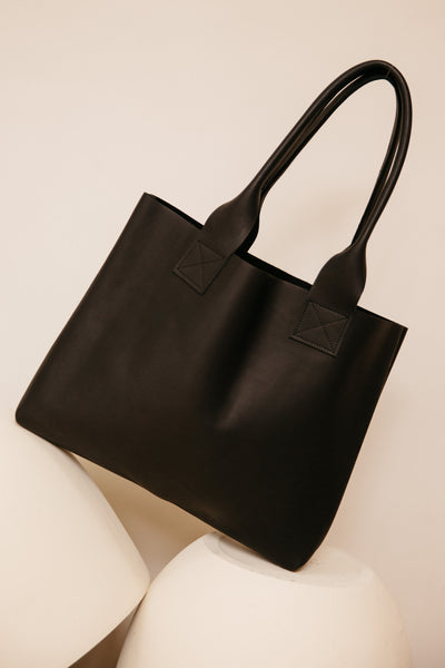 Black Poppins Bag