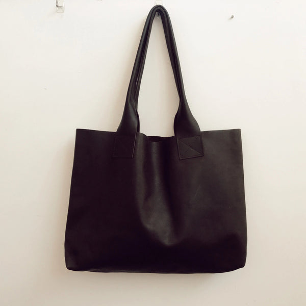 Brown Leather Poppins Bag (only one)