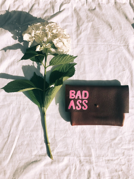 Limited Edition Hand Painted Clutch