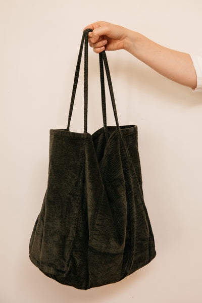 Vintage Cord Forrest Tote (last one!)