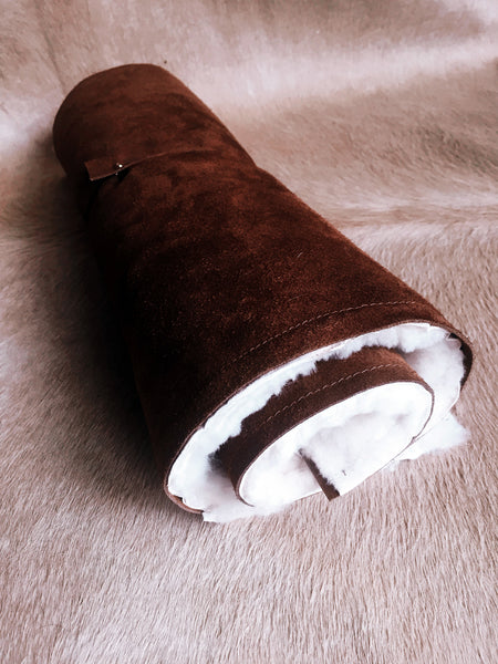 Sheepskin & Suede Baby Roll Rug - Honey & Heid Baby Rug Honey & Heid Honey & Heid