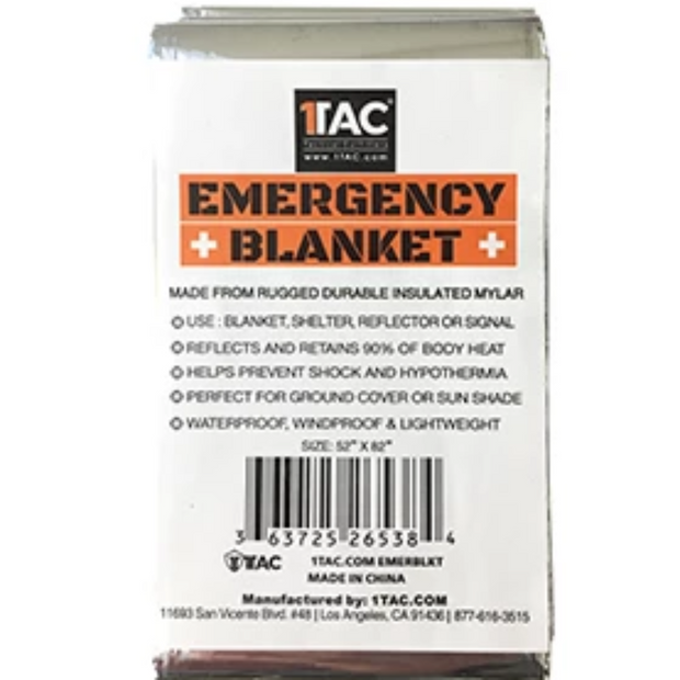 1 TAC Emergency Survival Blanket