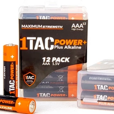 1TAC PowerPlus Triple-A (AAA) Batteries