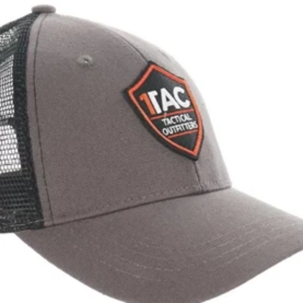 1TAC Gray Truckers Hat