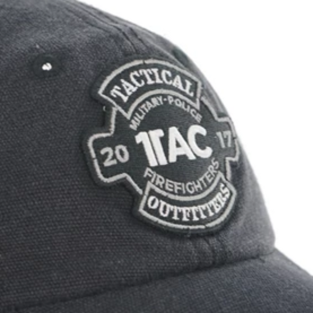 1TAC Black Truckers Hat