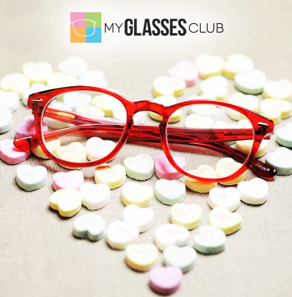 Valentines Day Prescription Glasses