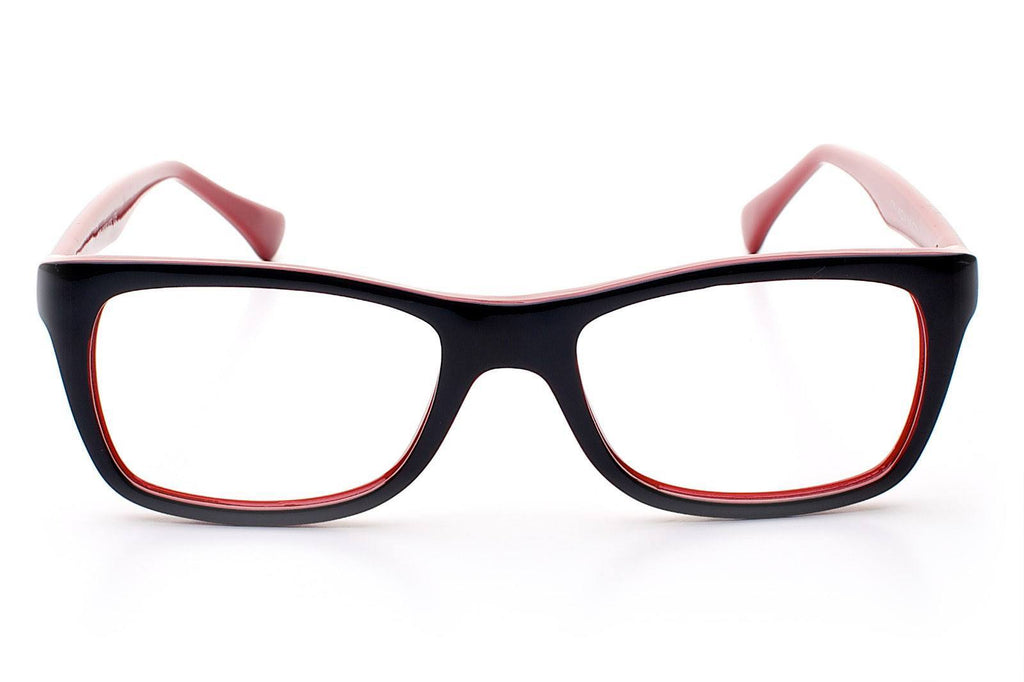 Colourways Frankie Black/Red - My Glasses Club -  - 1