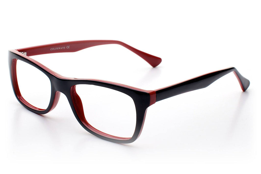 Colourways Frankie Black/Red - My Glasses Club -  - 2