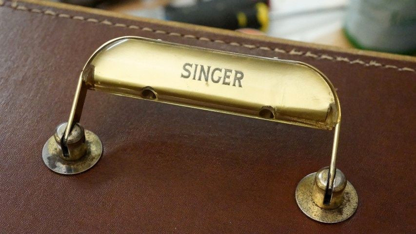 Reconditioning a Singer 99 Case - Part 1: The Handle
