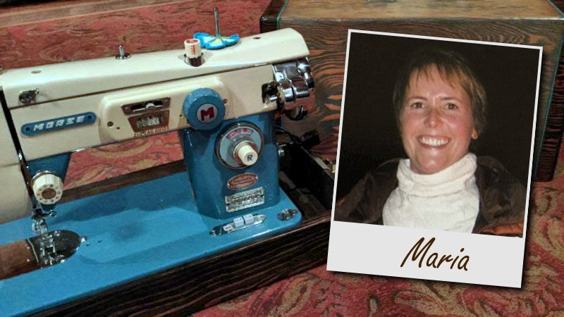 Maria Hunter: A Still Stitching Profile