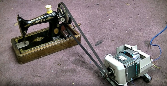 Bizarre High-Powered Sewing Machines