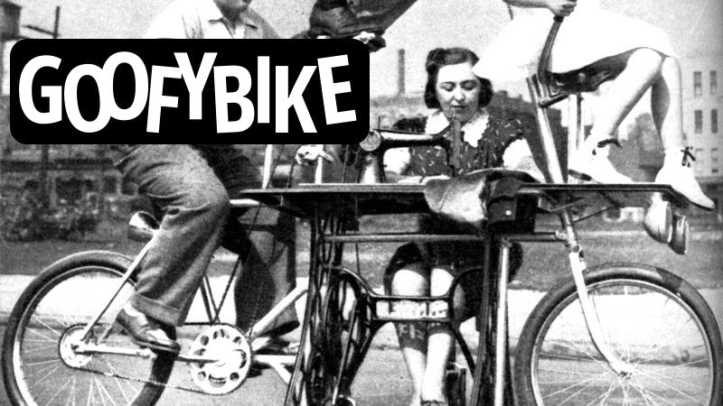 "1939 ""Goofybike"" Keeps Family in Stitches"