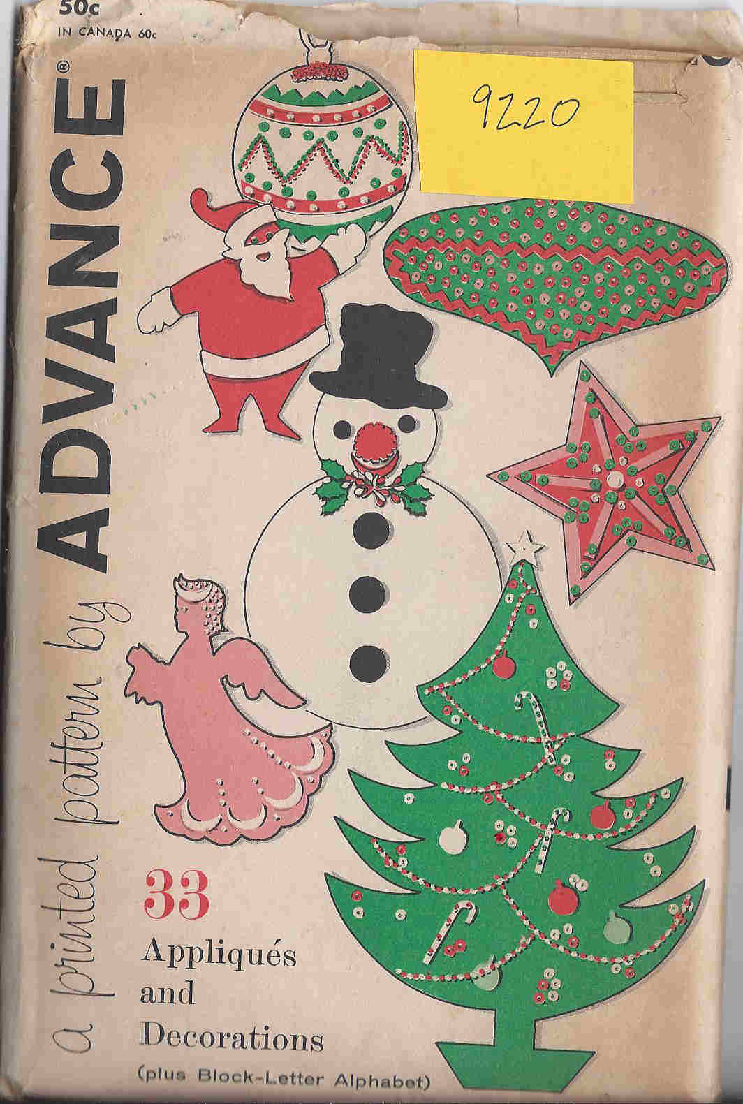 1960s Advance Appliques and Decorations