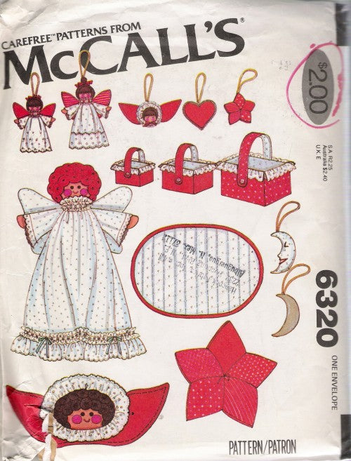 1978 McCall's 6320 Christmas Super Pack