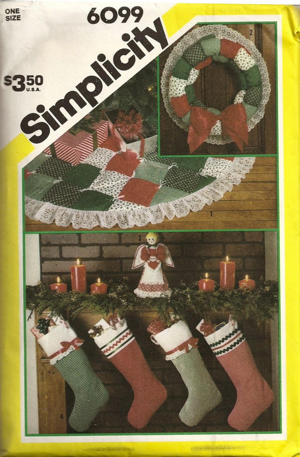 1983 Simplicity 6099 Christmas Accessories