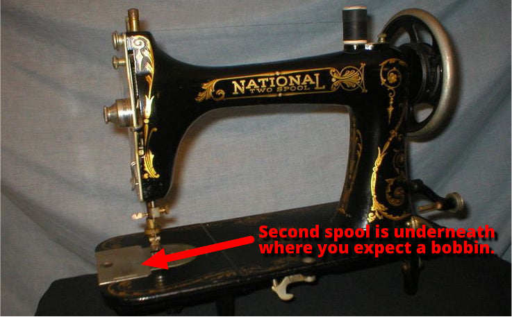 Vintage Sewing Machines Jargon Glossary Quilter's Bug Delectable National Sewing Machine Company History