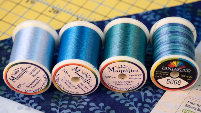 Superior Threads in Quilter's Stash Box