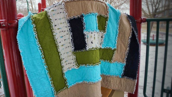 Buy - Log Cabin Rag Quilt Pattern