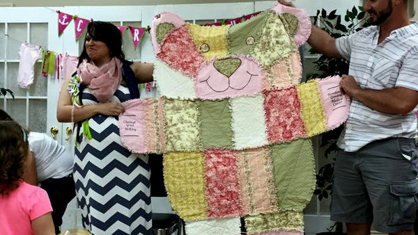 Rag Quilt by Donna LeBouef Bordelon