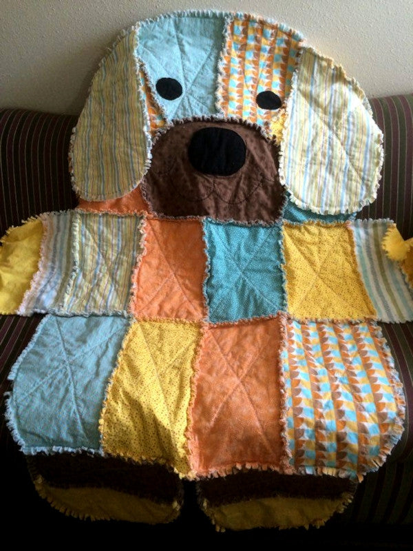 Rag Quilts Fluffy Easy And Fun To Make Quilter's Bug Enchanting Free Rag Quilt Patterns