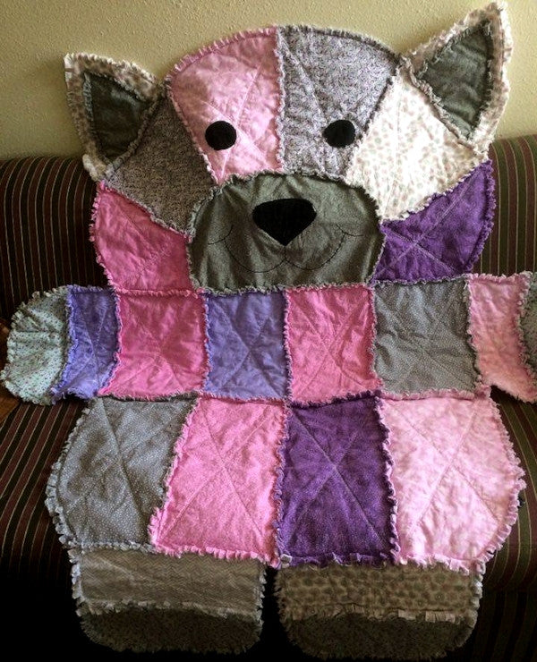 Rag Quilt by Ellie Fish Beran