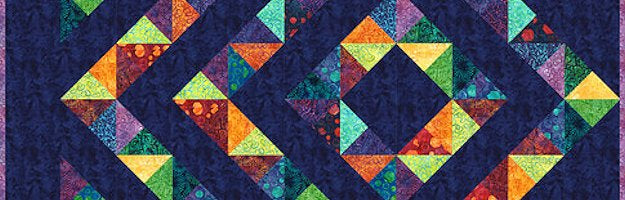 Robert Kaufman - Four Patch Charm Quilt Pattern
