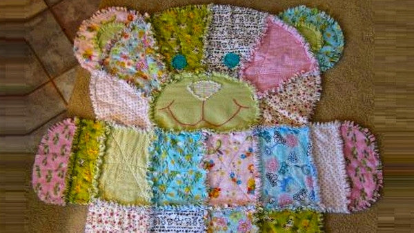 Rag Quilts Fluffy Easy And Fun To Make Quilter S Bug